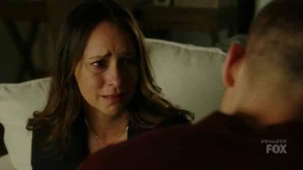 Maddie crying.