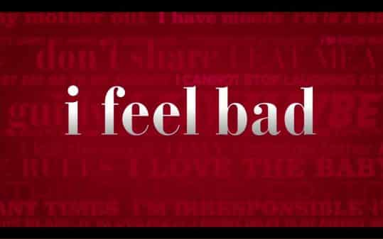 Title card for NBC's I Feel Bad.