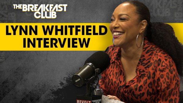 Promotional image for Lynn Whitfield on The Breakfast Club.