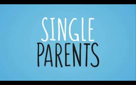 Title card for Single Parents