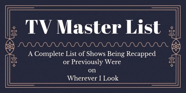 TV Master List