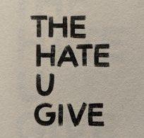 The Hate U Give Title