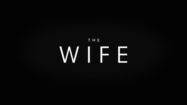 Title card for The Wife