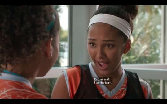 Kira (Raquel Justice) saying she is the team.