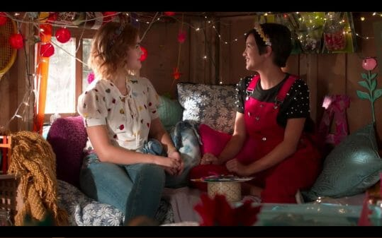 Libby (Millicent Simmonds) and Andi in Andi Shack