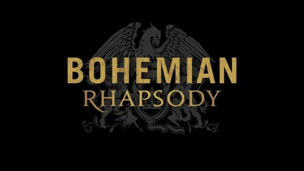 Title Card for Bohemian Rhapsody.