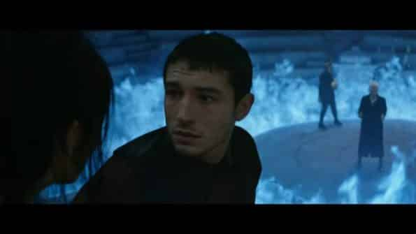 Credence (Ezra Miller) before he joins Grindelwald.