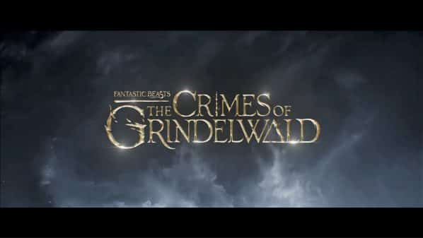 Fantastic Beasts The Crimes of Grindelwald -Title Card