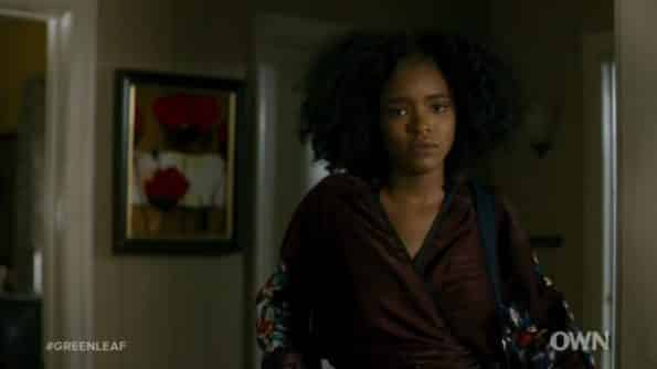 Zora returning home after leaving Isiah.