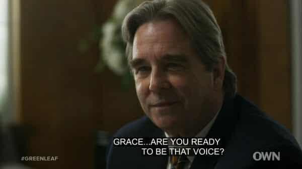 Bob Whitmore (Beau Bridges) talking to Grace