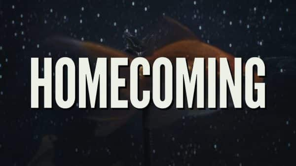 Title card for Homecoming.