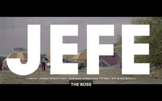 Title card for Jefe (The Boss)
