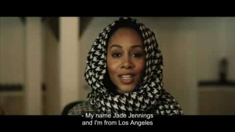 Jade (Simone Missick) stating her name and where she is from.