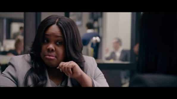 Callie (Amber Riley) side eyeing Danica.