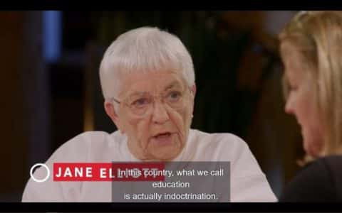 Jane criticizing the American education system.