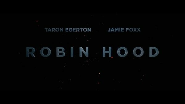 Title card for the movie Robin Hood.