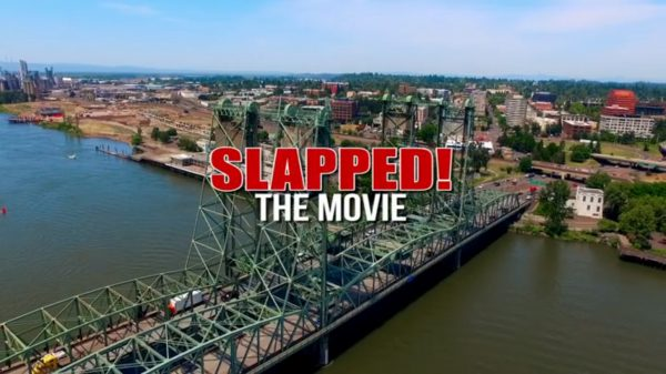 Title card for Slapped! The Movie