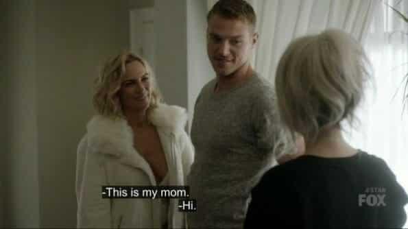 Rebecca (Kelly Sullivan) meeting Star.