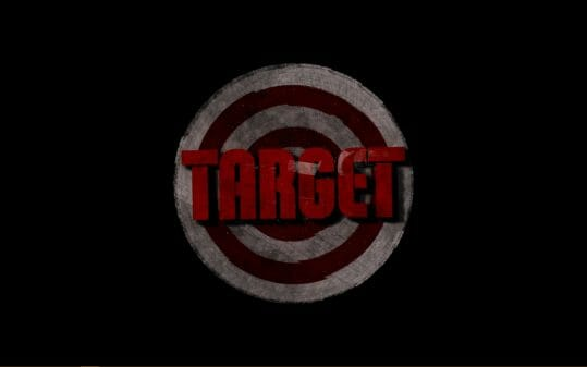 Target (2018) title card