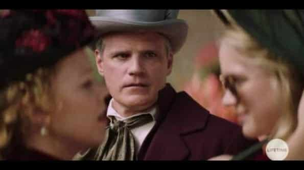 Edward (Michael Park) watching his wife get on Beck's nerves.