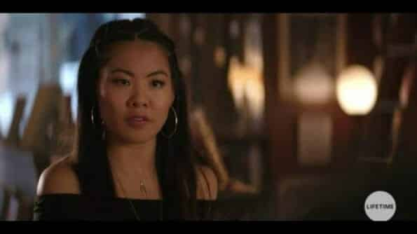 Lynn (Nicole Kang) convincing Joe into throwing a party for Beck.