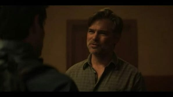 Ron (Daniel Cosgrove) talking to Joe.