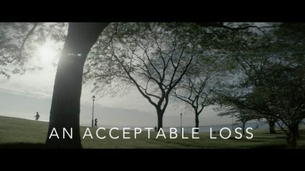 An Acceptable Loss (2018) - Title Card