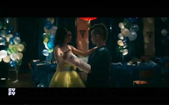 Petra and Billy dancing after the legacy dance got shut down.