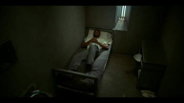 Alonzo waiting in prison.