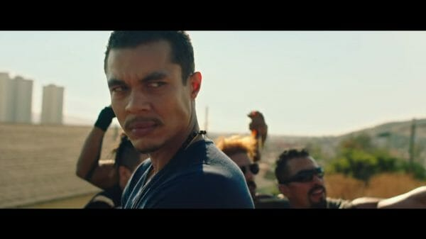 Lino (Ismael Cruz Cordova) after blowing up a DEA safehouse.