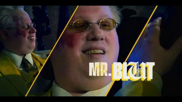 Blut (Matt Lucas)'s introduction