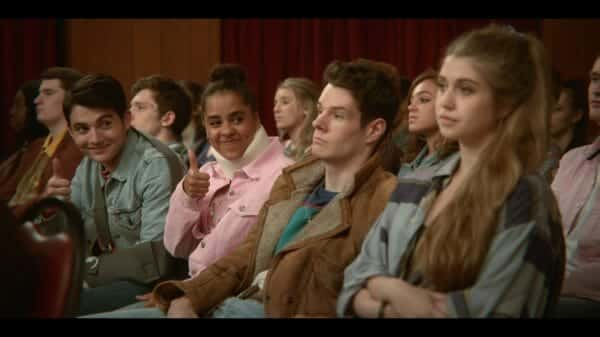 Sex Education Season 1 Episode 2 – Sam (Jonny amies) and Kate (Olive Gray)