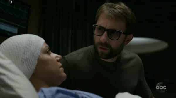 Lana (Vered Blonstein) and Javi (Alex Plank) as Javi notes he loves Lana.