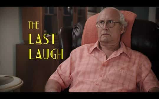 The Last Laugh - Title Card featuring Chevy Chase