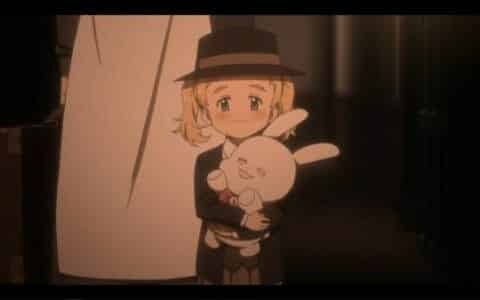 "Conny (Ari Ozawa) before she leaves to be ""adopted."""