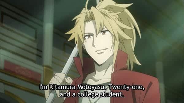 Motoyasu introducing himself.