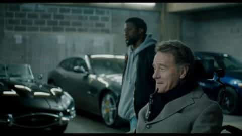 Dell (Kevin Hart) and Philip (Bryan Cranston) about to run an errand.