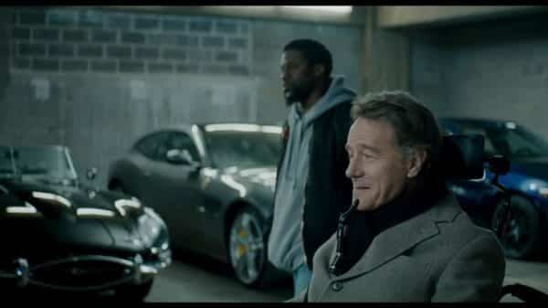 The Upside – Dell (Kevin Hart) and Philip (Bryan Cranston)