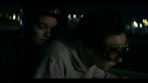 Del (Ciara Bravo) and Wayne (Mark McKenna) heading to Florida.