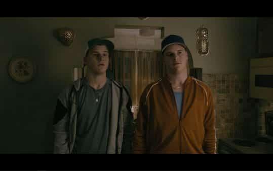 Carl (Jon Champagne) and Teddy (Jamie Champagne)