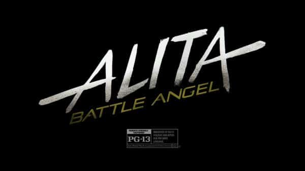 Alita; Battle Angel - Title Card