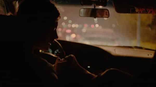 Jake (McCaul Lombardi) and Amanda (Morgan Saylor) on their way to Amanda's aunt's house.