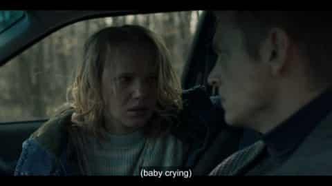 Johanna (Joanna Kulig) as she and Erik try to escape Marissa.