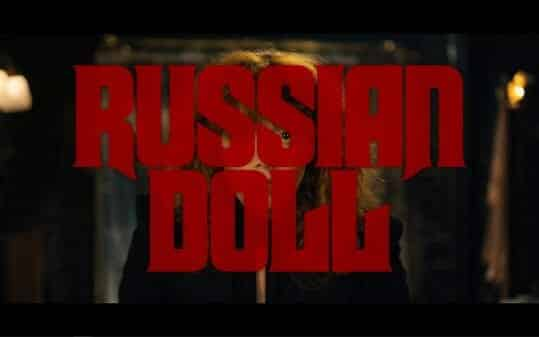 Russian Doll title card.