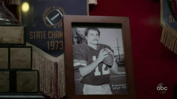 Dr. Glassman when he was a football player.