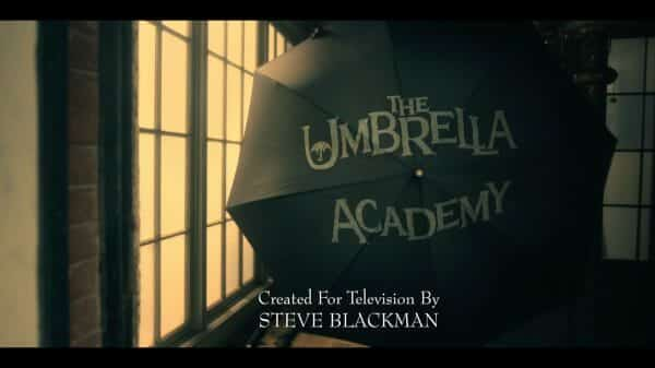 The Umbrella Academy Season 1, Episode 10 The White Violin - Title Card