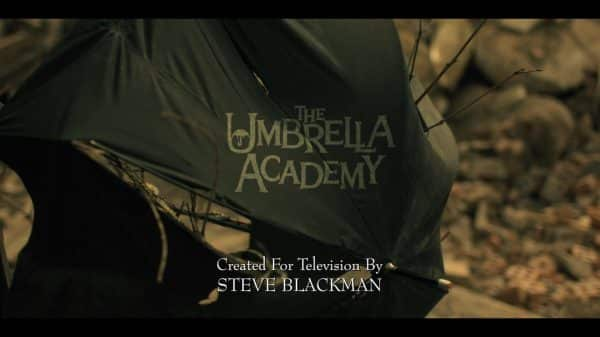 The Umbrella Academy Season 1, Episode 2 Run Boy Run - Title Card