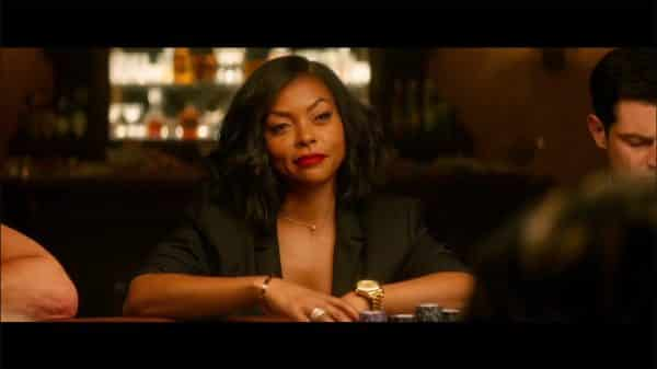 Ali (Taraji P. Henson) playing poker.