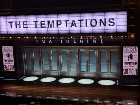 Ain't Too Proud The Life and Times of The Temptations - Stage at Imperial Theater