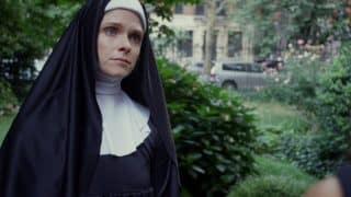 Sister Martha (Lilith Falcon) answering questions from Yolanda.